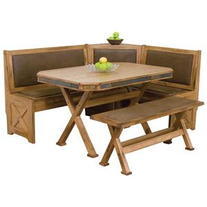 Morris Home Furnishings From Morris Home Furnishings - Oxton 4 Piece Dining Set