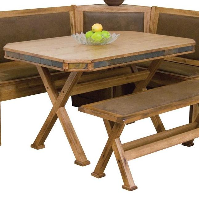 Morris Home Furnishings From Morris Home Furnishings - Oxton Dining Table - Item Number: 0222RO-T