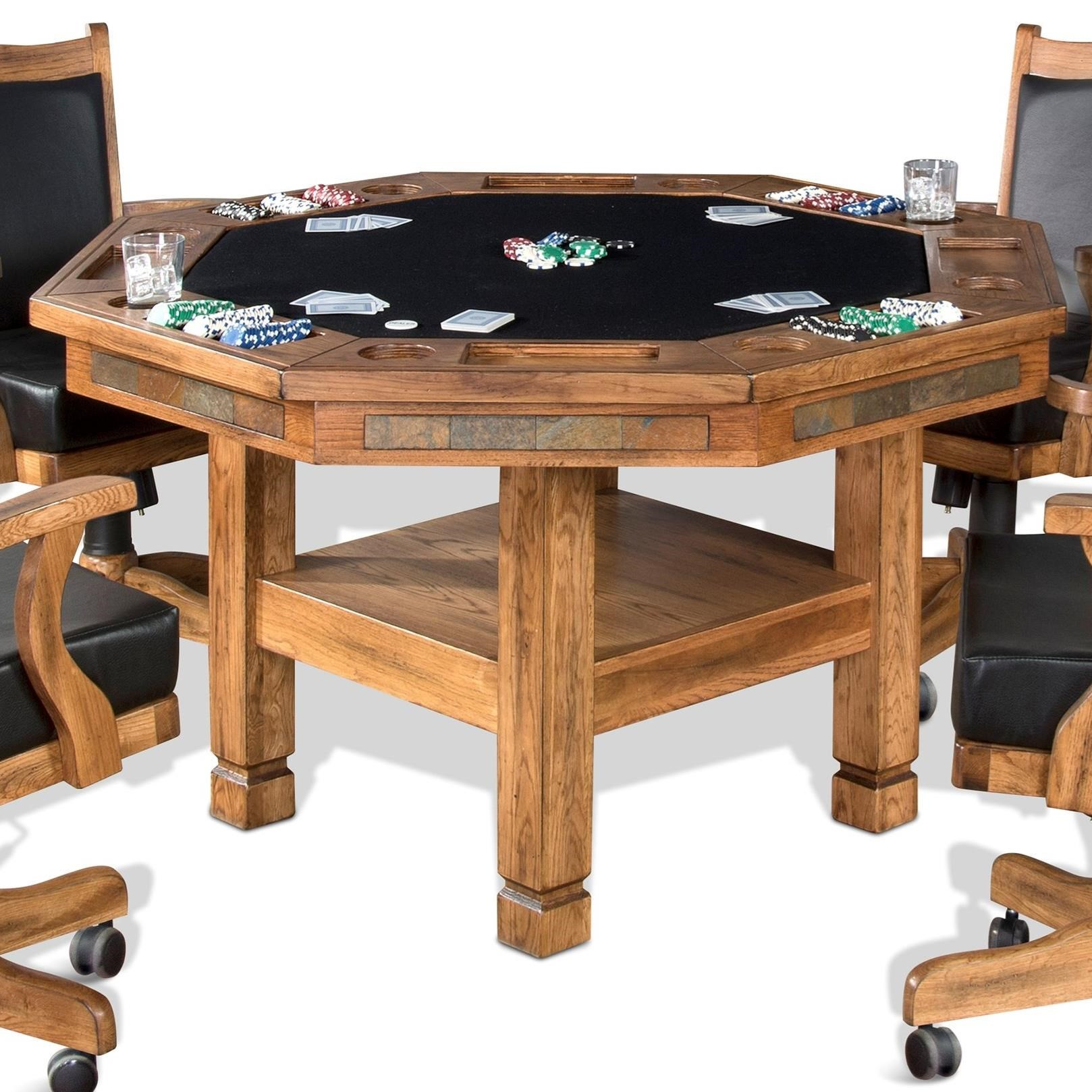 Sedona Game & Dining Table by Sunny Designs at Sparks HomeStore
