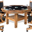 Sunny Designs Sedona Game & Dining Table - Item Number: 1005RO