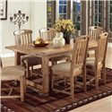 Sunny Designs Sedona Extension Table - Item Number: 1116-RO