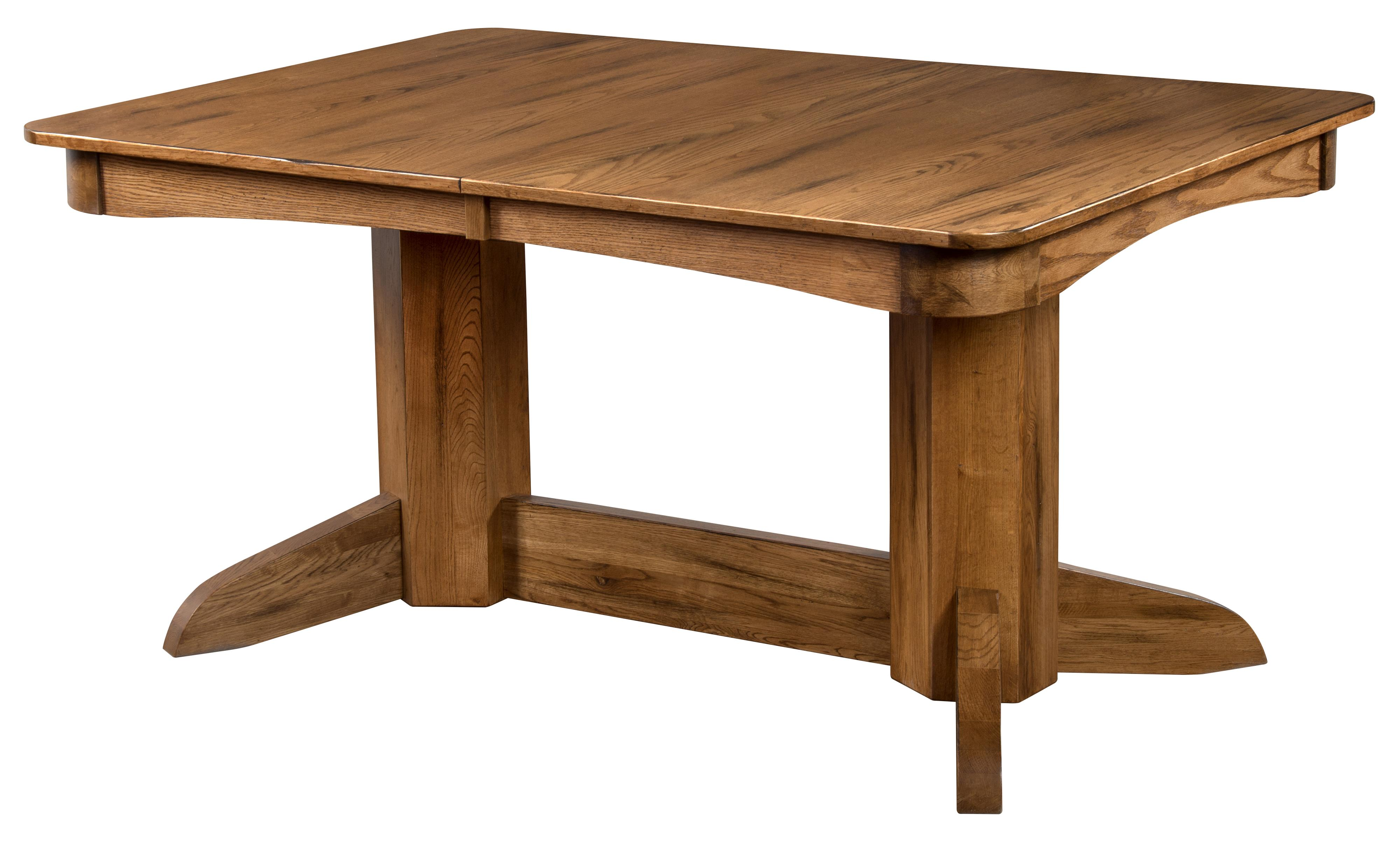Sunny Designs Sedona Rustic Oak Trestle Table W 2 Leaves Fashion Furniture Dining Tables