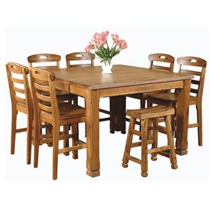 Sunny Designs Sedona 8 Piece Dining Set