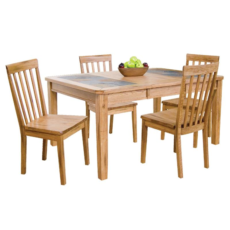 Slate Dining Room Table: Sunny Designs Sedona Extension Table W/ Slate Top