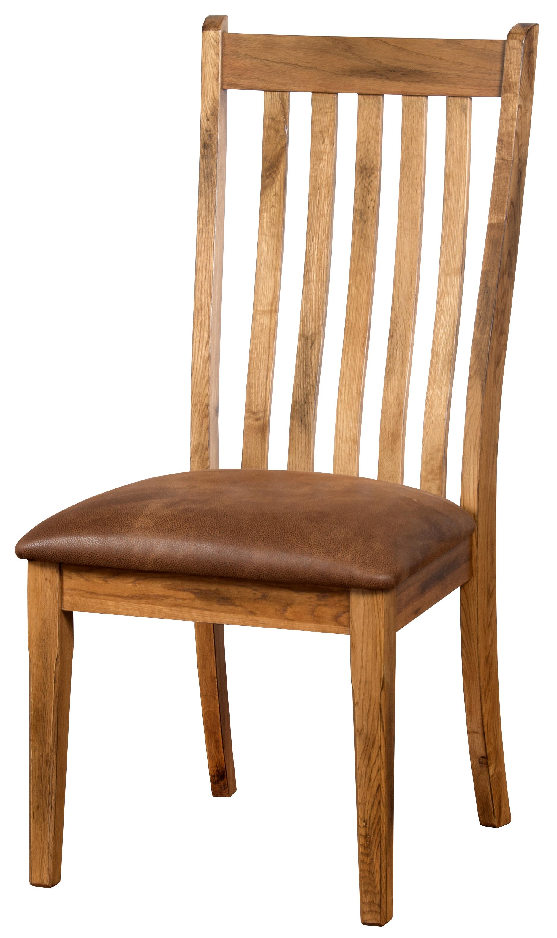 Sunny Designs Sedona Side Chair w/ Cushion Seat - Item Number: 1408RO-CT