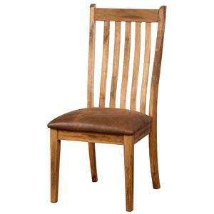 Side Chair w/ Cushion Seat