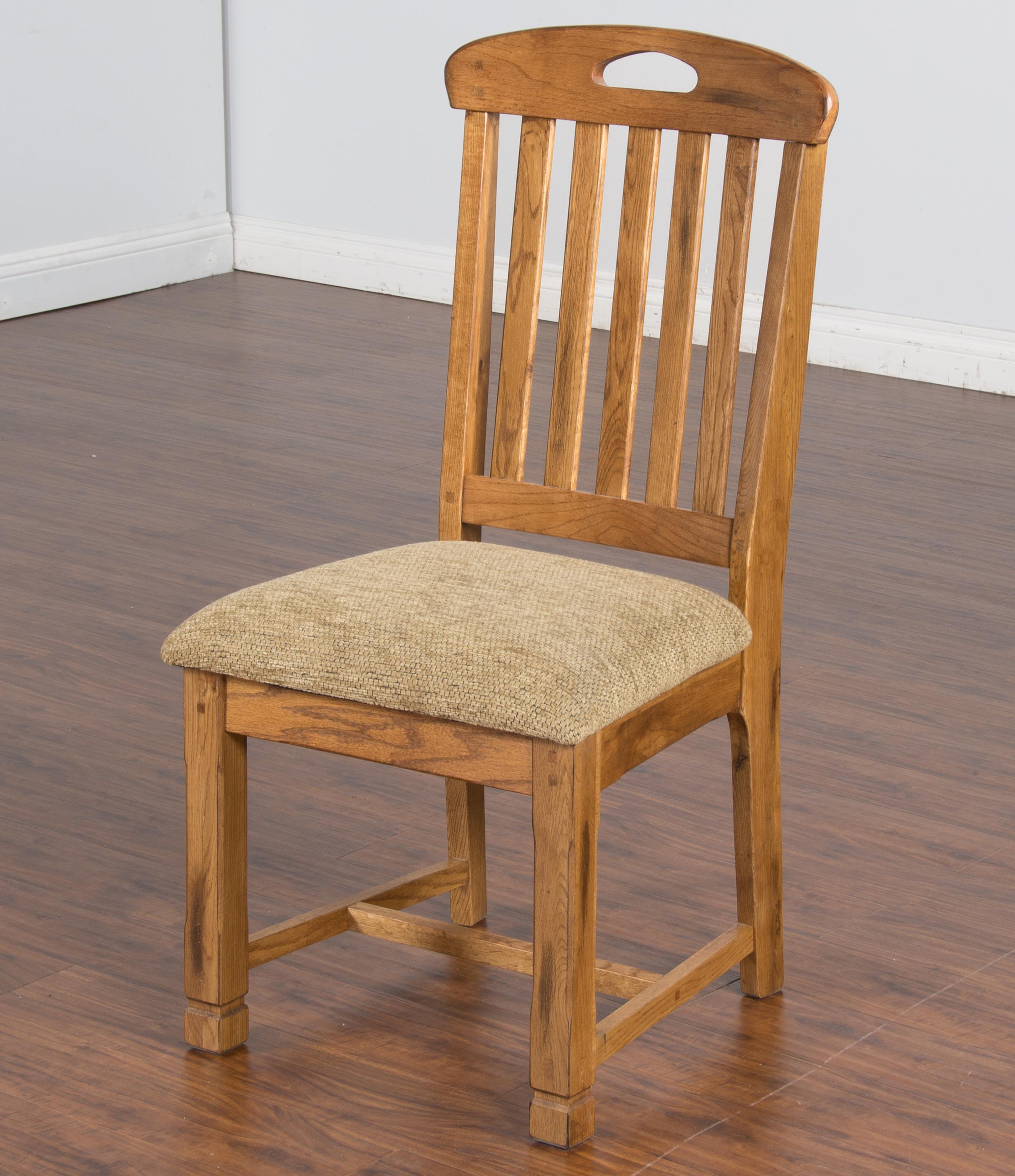 Sunny Designs Sedona Rustic Oak Slatback Side Chair Conlin 39 S Furniture Dining Side Chairs
