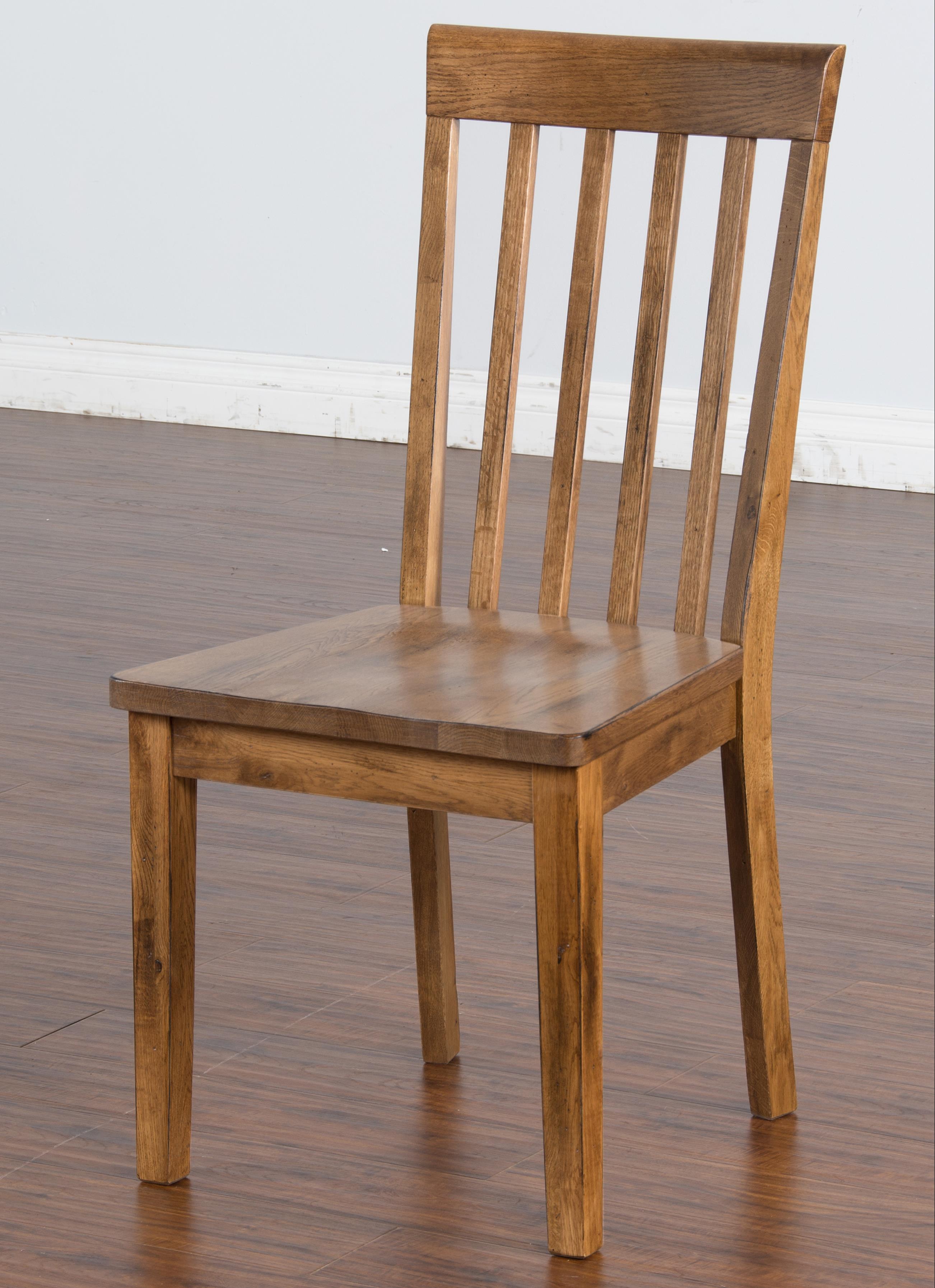 Sunny Designs Sedona Slatback Side Chair - Item Number: 1424RO