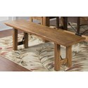 Sunny Designs Sedona Expandable Bench - Item Number: 1499RO