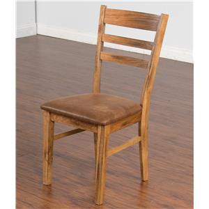 Ladderback Chair w/ Cushion