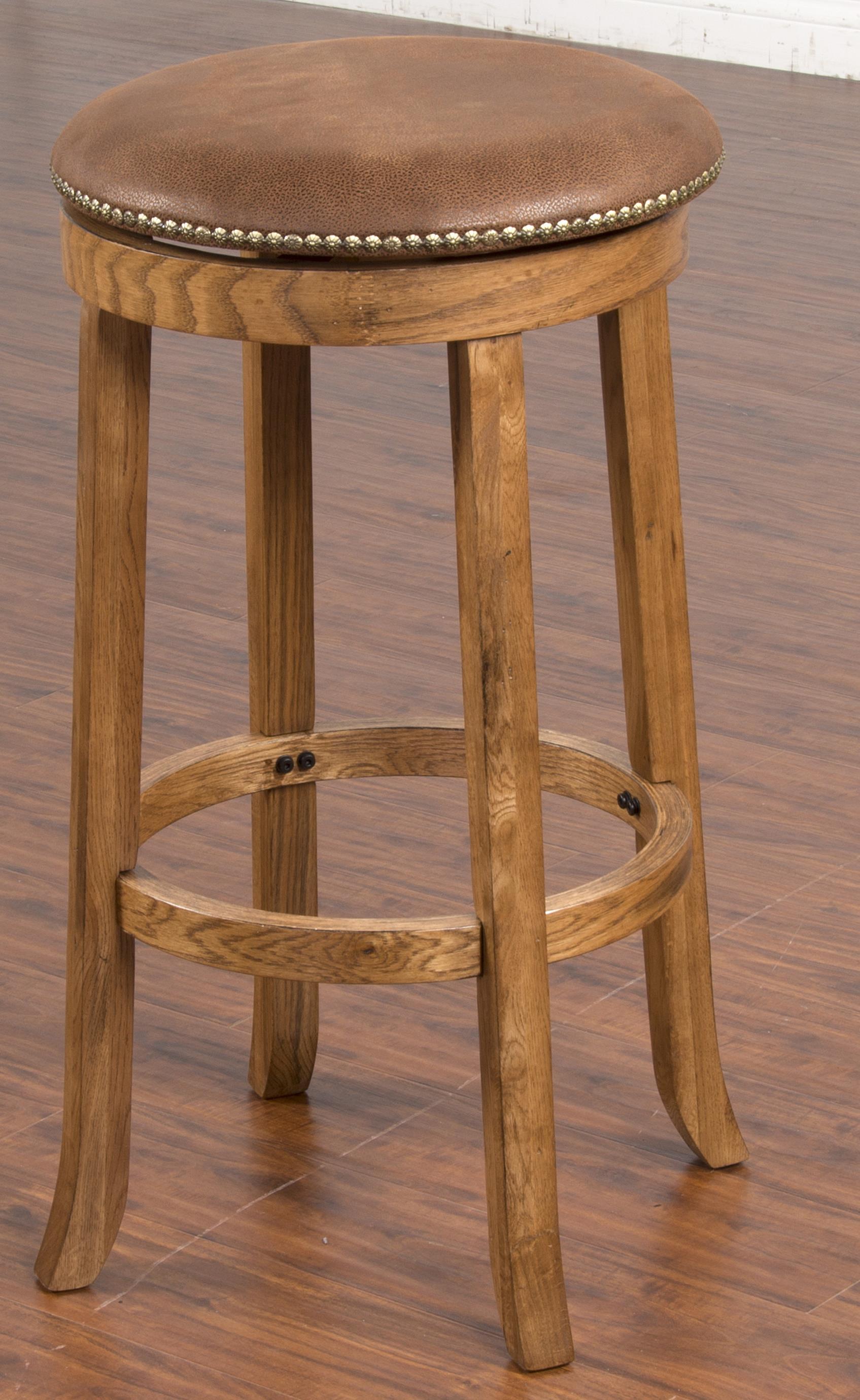 Sunny Designs Sedona Swivel Stool - Item Number: 1783RO