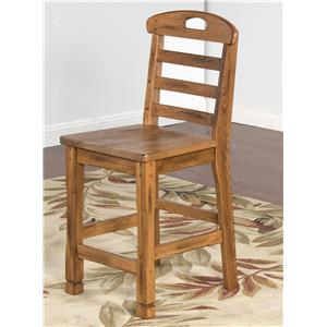 Sunny Designs Sedona Ladderback Barstool