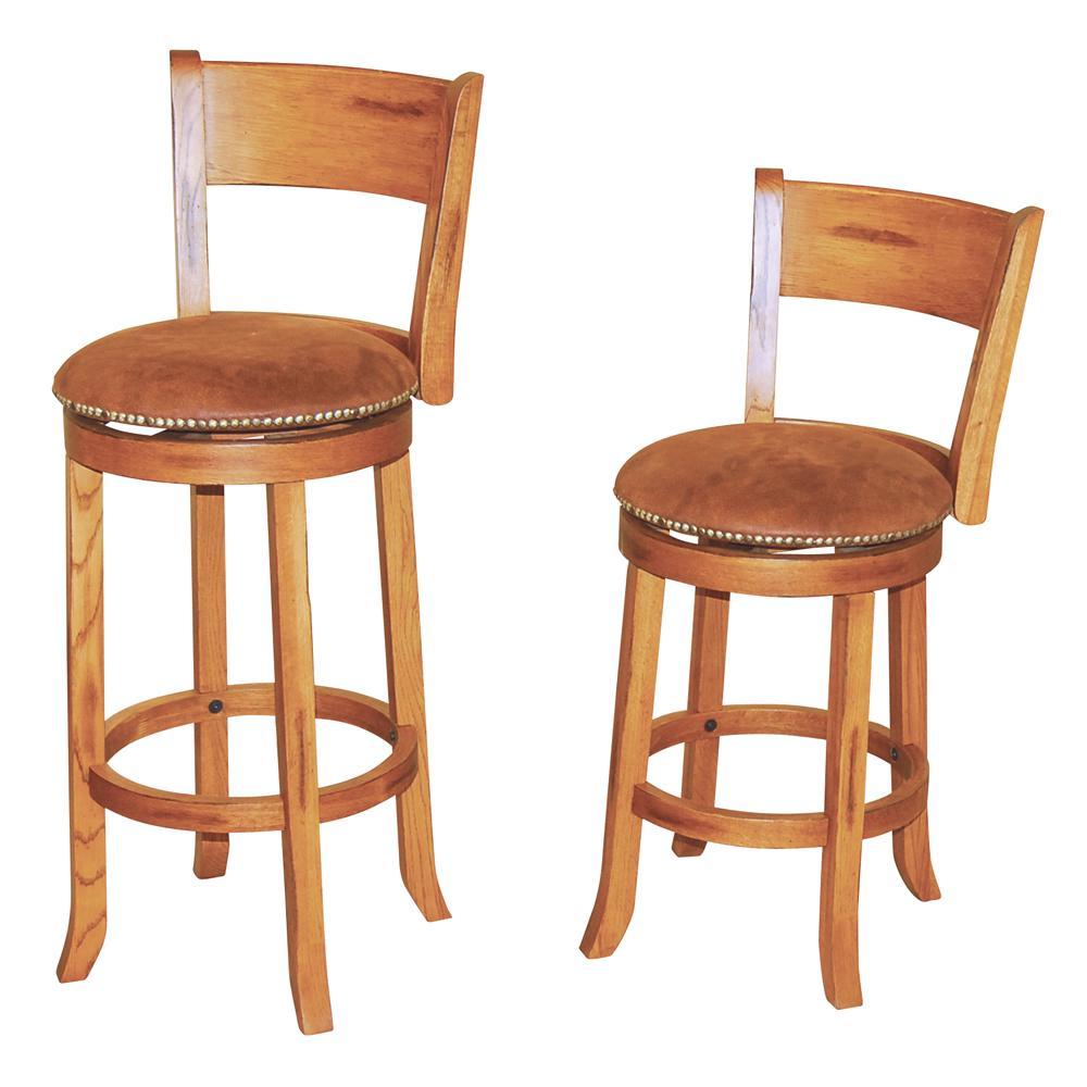 Sunny Designs Sedona 1882ro 24 Quot Upholstered Swivel Stool W