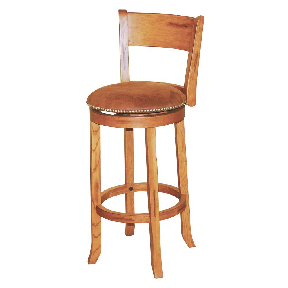 "Sedona 30"" Swivel Stool w/ Back by Sunny Designs at Sparks HomeStore"