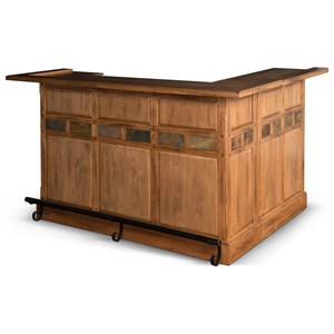 Sunny Designs Sedona L-Bar with Reversible Return
