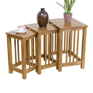 3-pc Nesting Table
