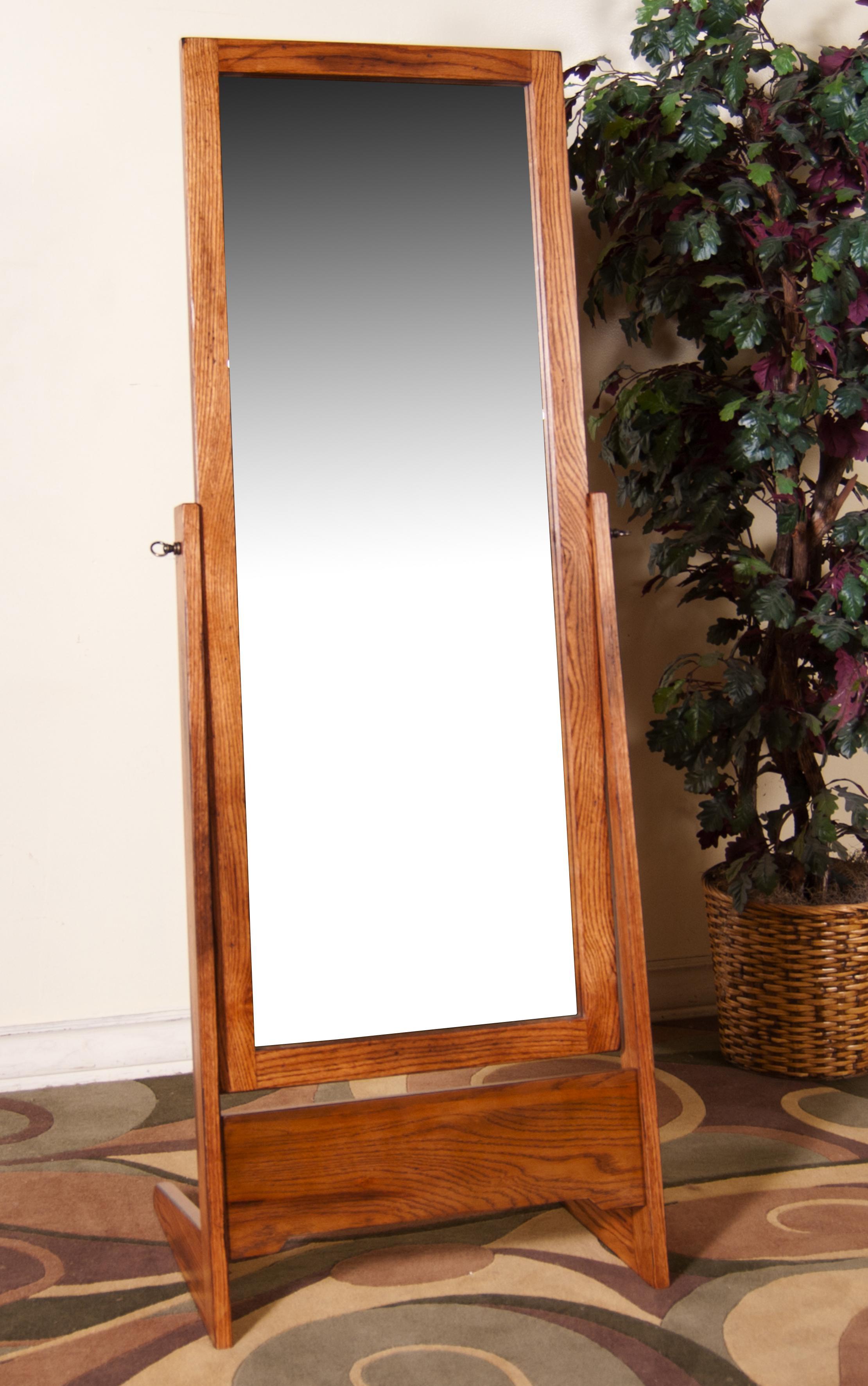 Morris Home Furnishings From Morris Home Furnishings - Cheval Mirror - Item Number: 2205RO