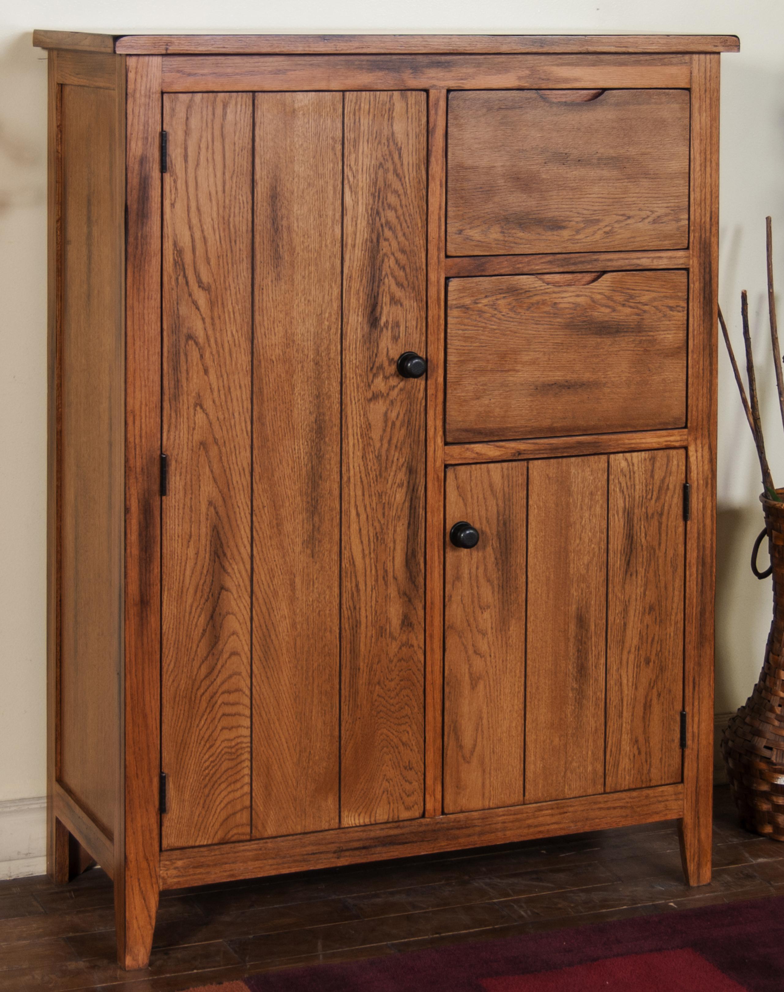 Morris Home Furnishings From Morris Home Furnishings - Tuscola Cupboard - Item Number: 2230RO