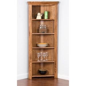 Sunny Designs Sedona Corner Curio/ Bookcase