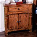 Sunny Designs Morris Home Sadler Night Stand - Item Number: 2322RO-N