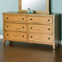 Sunny Designs Sedona Dresser - Item Number: 2334RO-D