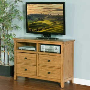 Sunny Designs Sedona Media Chest