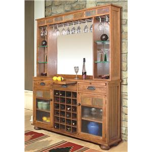 Sunny Designs Sedona Sedona Back Bar & Server