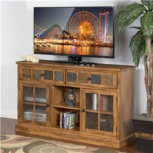 "Morris Home Furnishings From Morris Home Furnishings - Defiance 60"" Console"