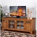 Sunny Designs Sedona TV Console - Item Number: 2751TC-RO