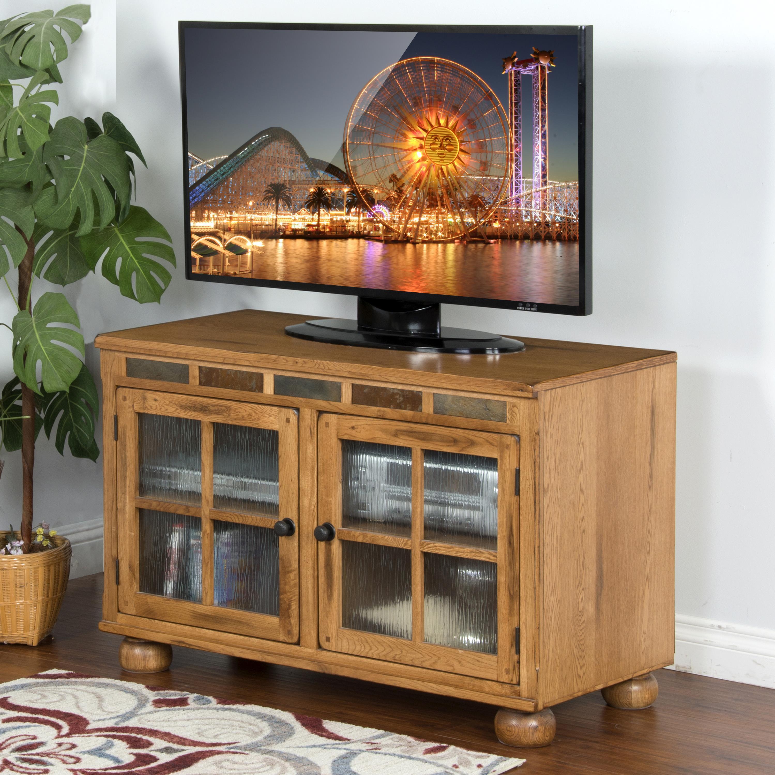 Sunny Designs Sedona TV Console - Item Number: 2753-RO