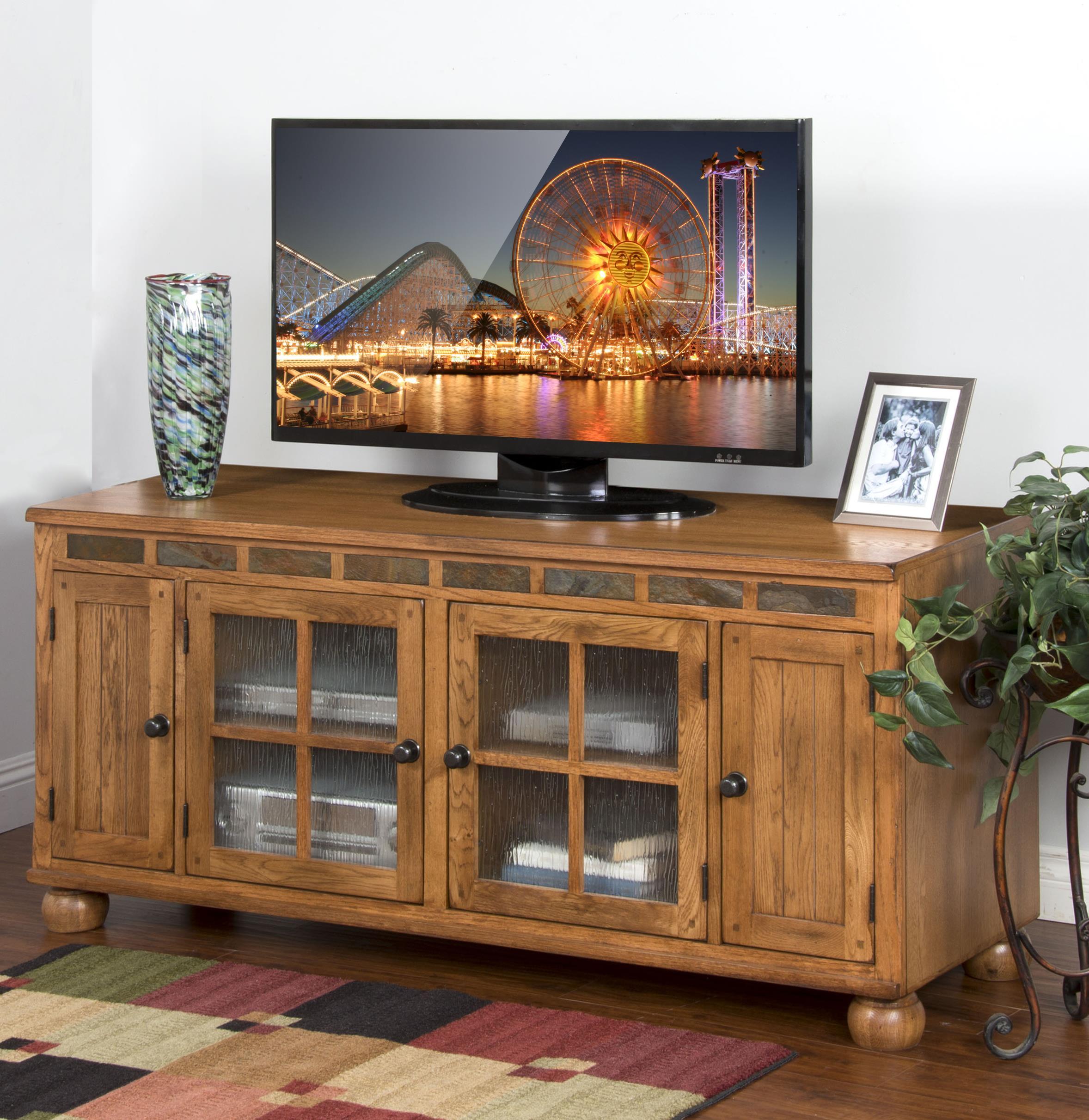 Sunny Designs Sedona TV Console - Item Number: 2754-RO