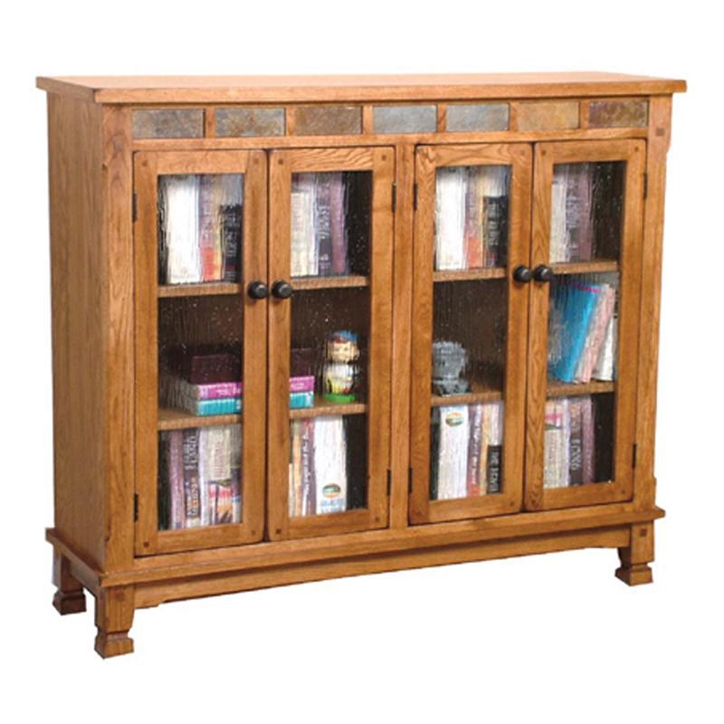 Sunny Designs Sedona Sedona Bookcase w/ Slate - Item Number: 2813RO