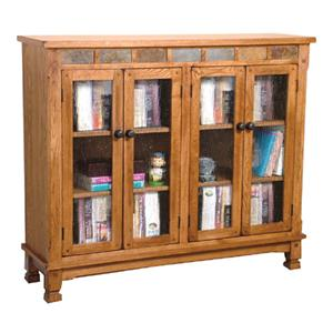 Sedona Bookcase w/ Slate