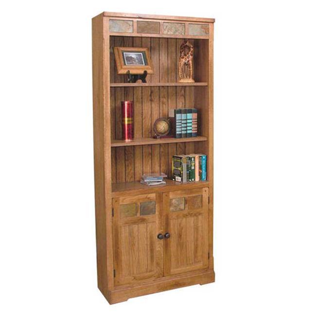 Sunny Designs Sedona Door Bookcase - Item Number: 2862BD-RO
