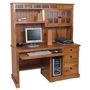 Sunny Designs Sedona Desk and Hutch