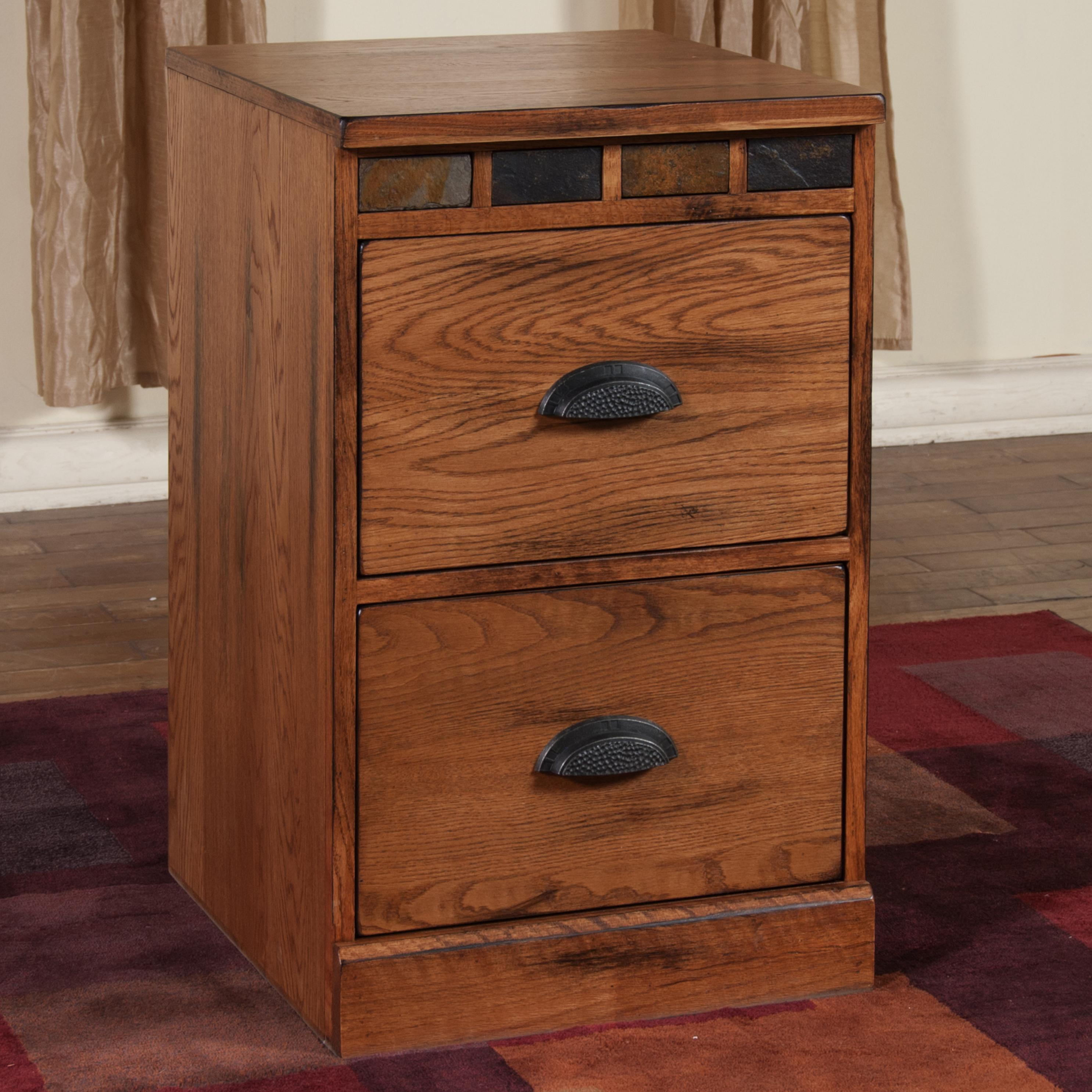 Morris Home File Cabinet With Slate By Market Square