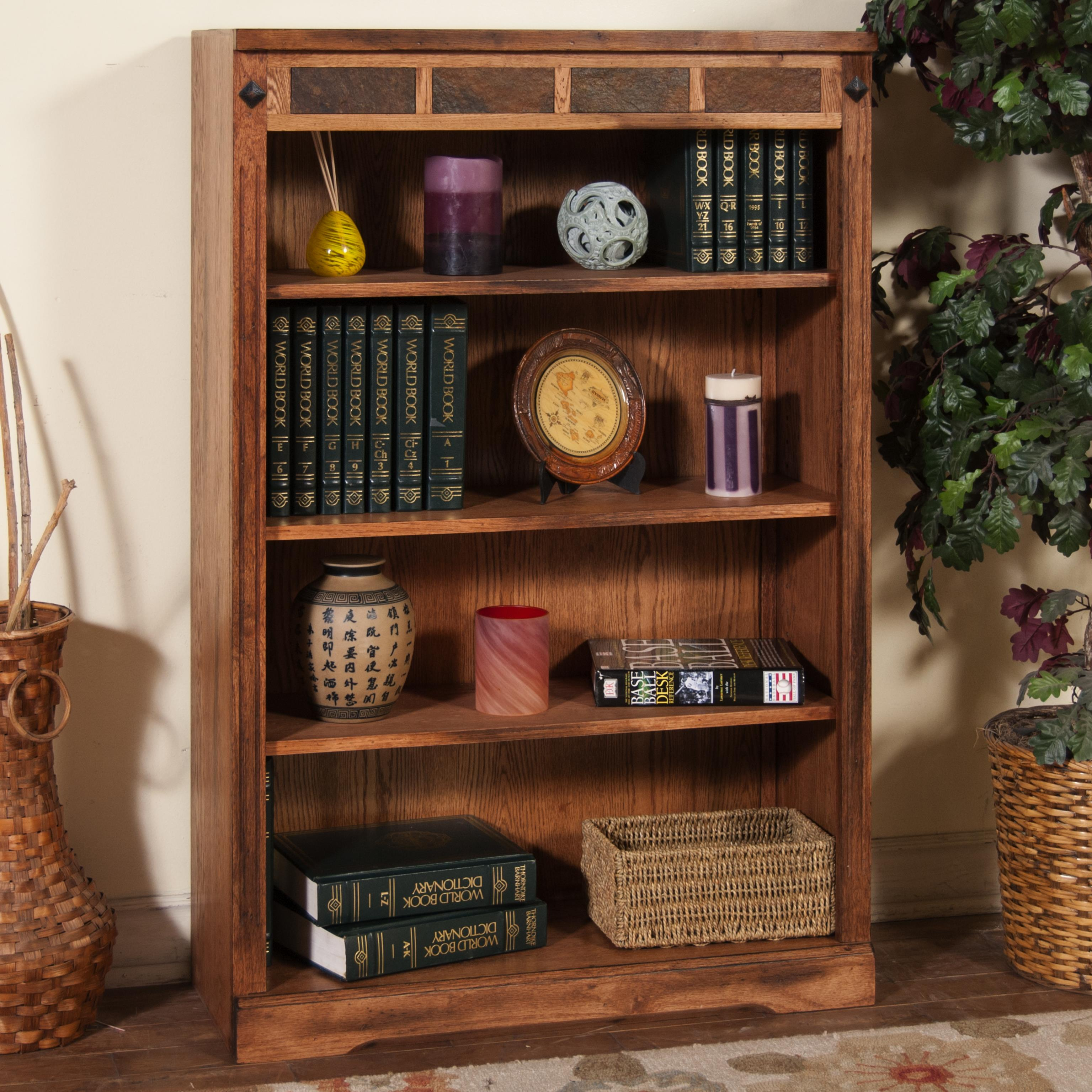 Sunny Designs Sedona Bookcase - Item Number: 2952RO-48