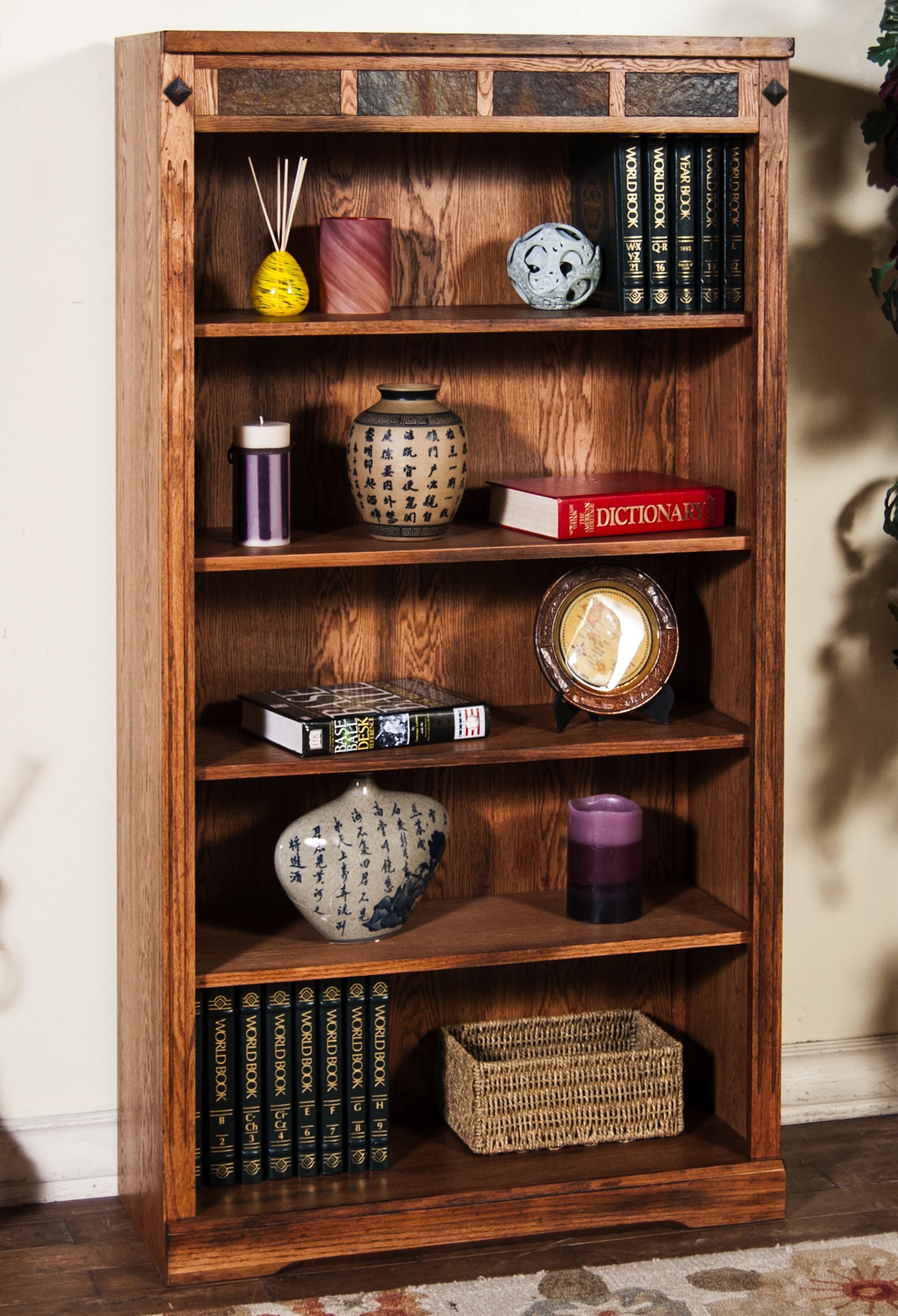 Sunny Designs Sedona Bookcase - Item Number: 2952RO-60