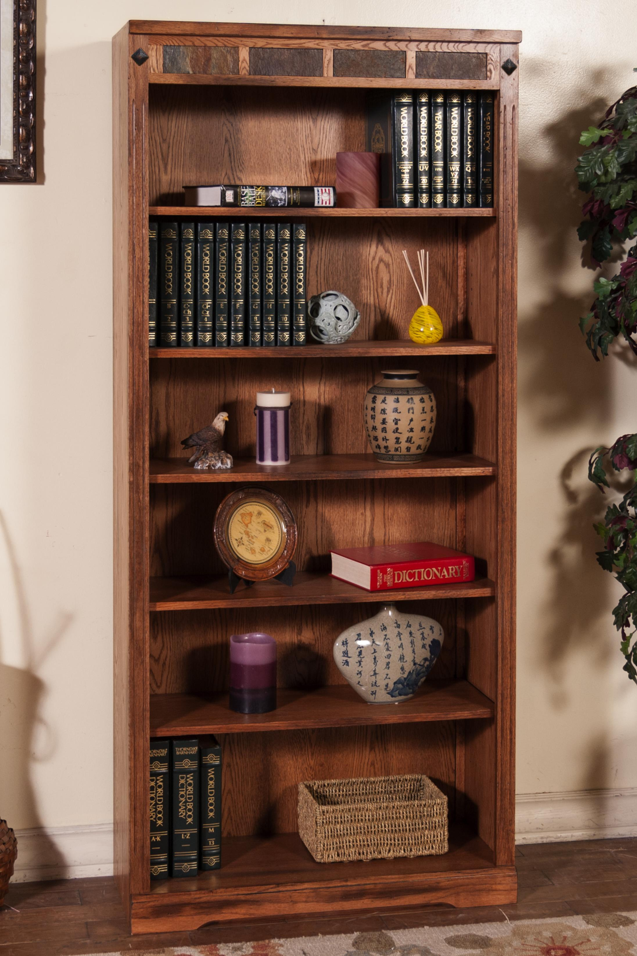 Sunny Designs Sedona Bookcase - Item Number: 2952RO-72