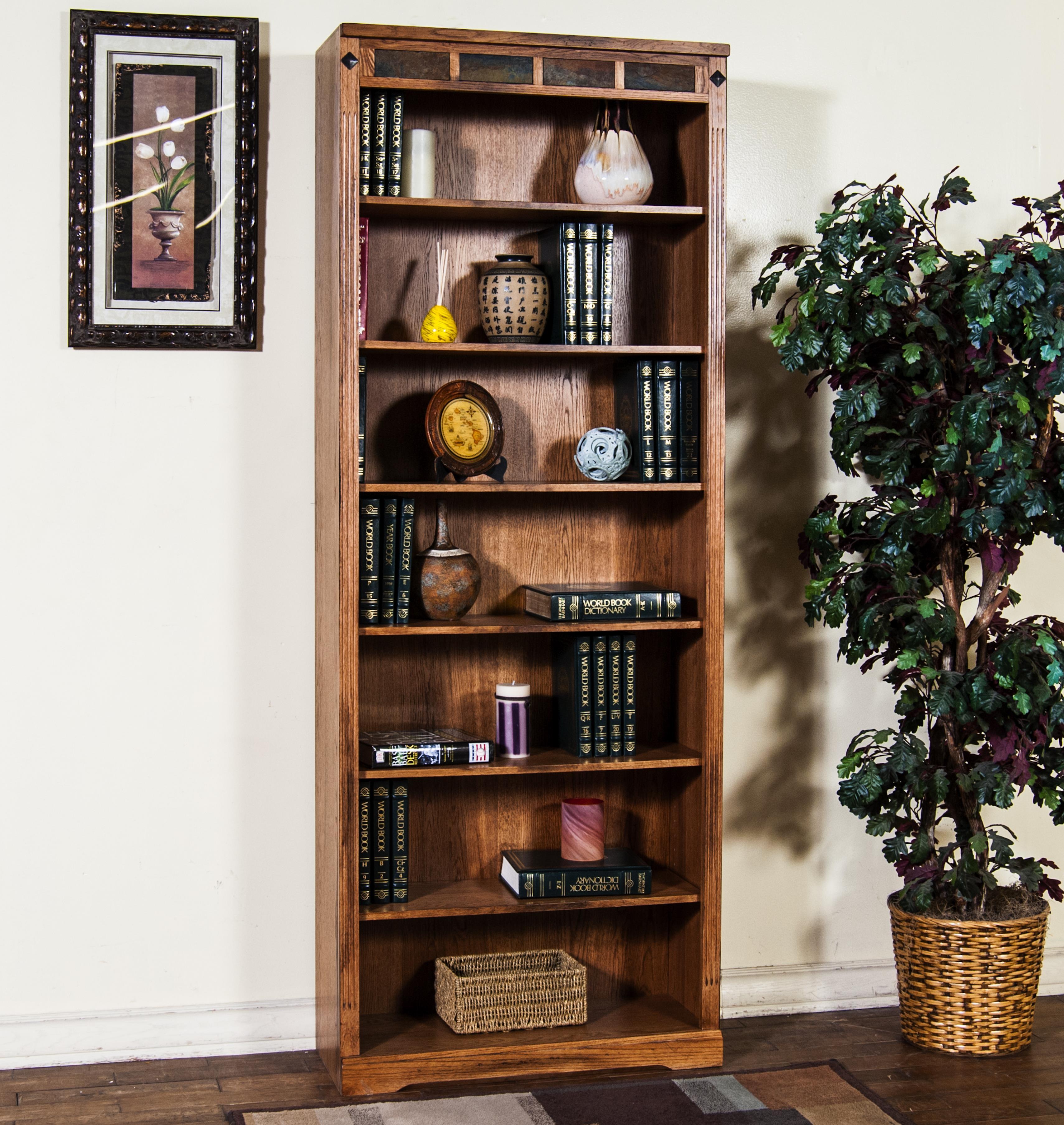 Sunny Designs Sedona Bookcase - Item Number: 2952RO-84