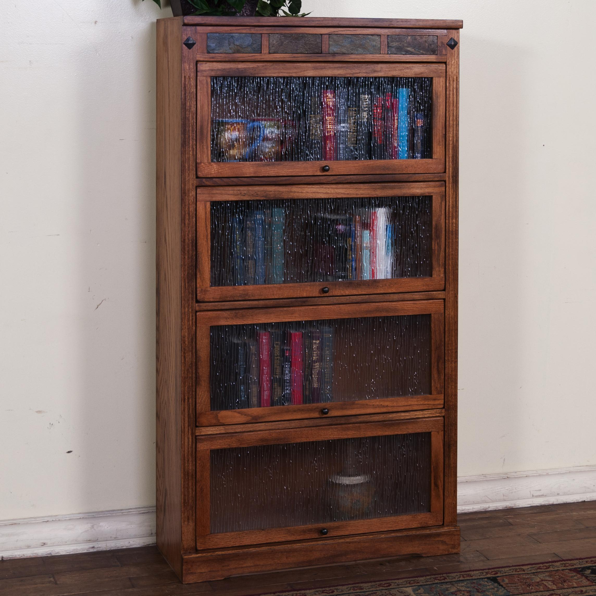 Morris Home Furnishings From Morris Home Furnishings - Rugby Road Lawyers Bookcase - Item Number: 2952RO-L4