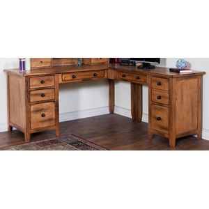 Sunny Designs Sedona L-Shape Desk