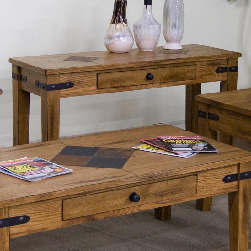 Sunny Designs Sedona Sofa Table - Item Number: 3160RO-S