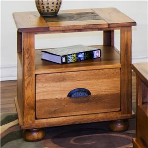 Sunny Designs Sedona End Table w/ Drawer