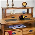 Sunny Designs Sedona Sofa Table w/ Drawers - Item Number: 3163RO-S