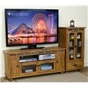 "Sunny Designs Sedona Audio Pier w/ Drawer - Shown with 60"" TV Console"