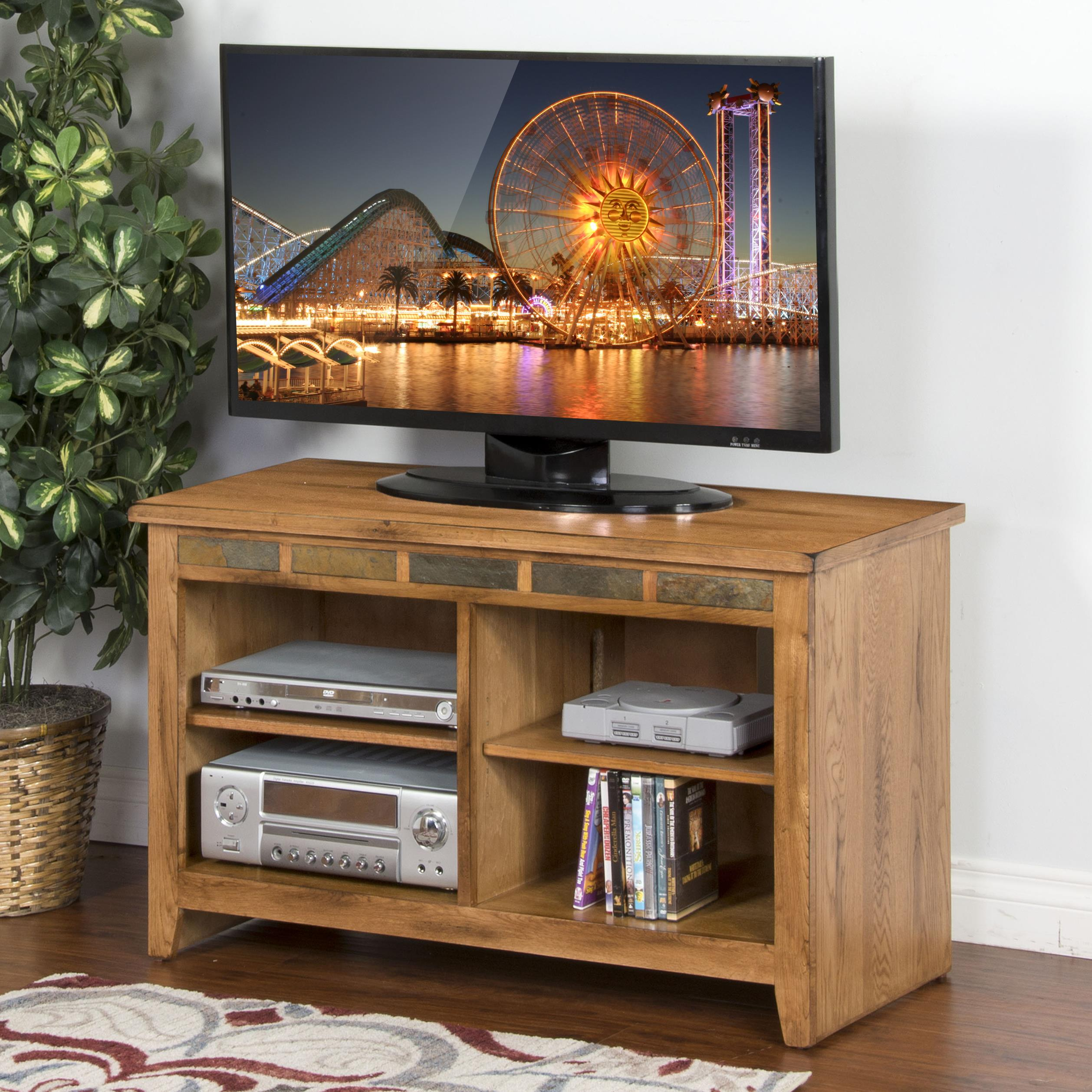 "Sunny Designs Sedona 42"" TV Console - Item Number: 3398RO-42"
