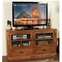 "Sunny Designs Sedona 63"" TV Console - Item Number: 3439RO-TC"