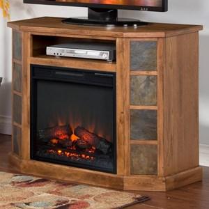 Sunny Designs Sedona 42 Inch Fireplace Console