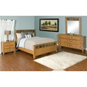 Sunny Designs Sedona California King Bedroom Group - Item Number: RO CK Bedroom Group 3